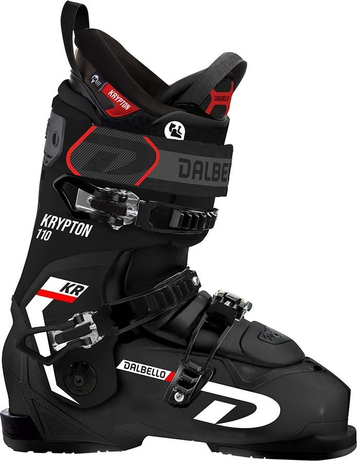 Dalbello Mens Krypton Ax 110 Ski Boots, 26.5 Black/Black