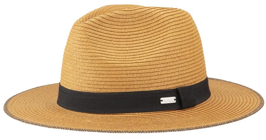 Coal The Wimbledon Fedora Hat, M Light Brown
