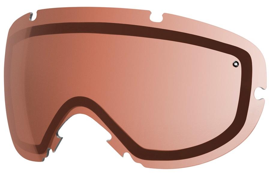 Smith I/OS Snowboard/Ski Goggle Spare Lens, One Size, RC36 Rose Copper