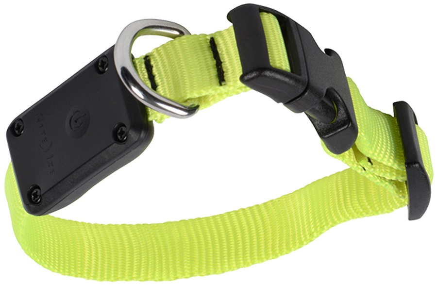 Nite Ize Nite Dawg LED Dog Collar Light Up Pet Collar, XS Neon Yellow