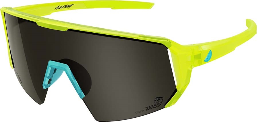 Melon Adult Unisex Alleycat Smoke Performace Sunglasses, M/L Yellow/Turquoise