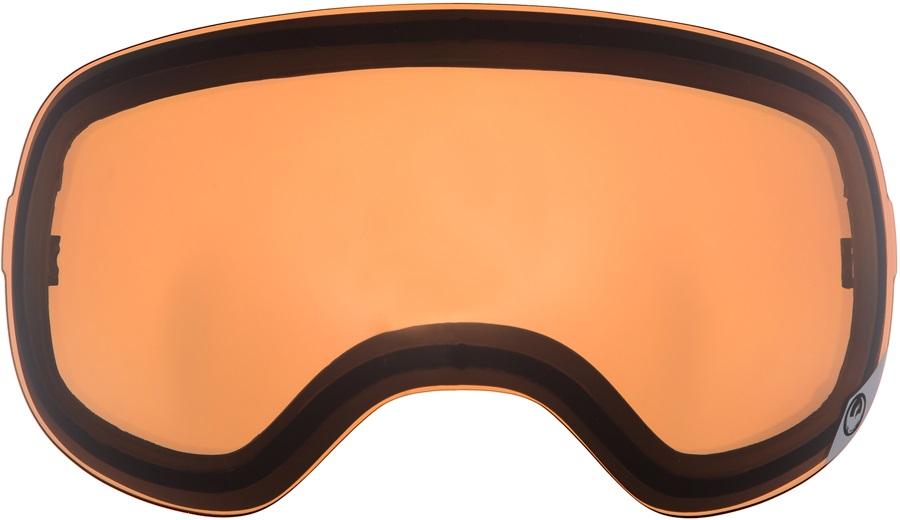 Dragon X2s Snowboard/Ski Goggle Spare Lens LumaLens Amber