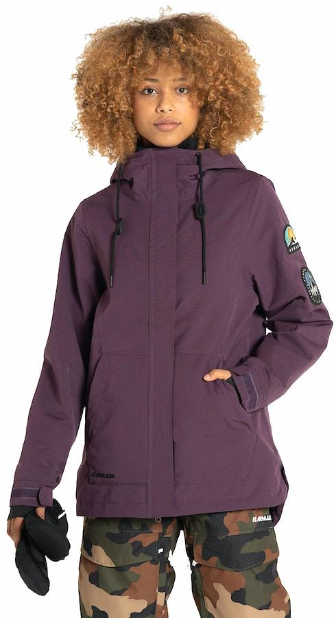 Armada Helena Insulated Women's Ski/Snowboard Jacket, Xs Plum