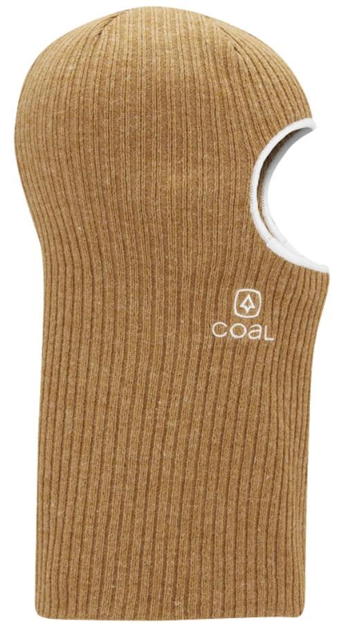 Coal The Knit Clava Ski/Snowboard Balaclava, One Size Heather Mustard