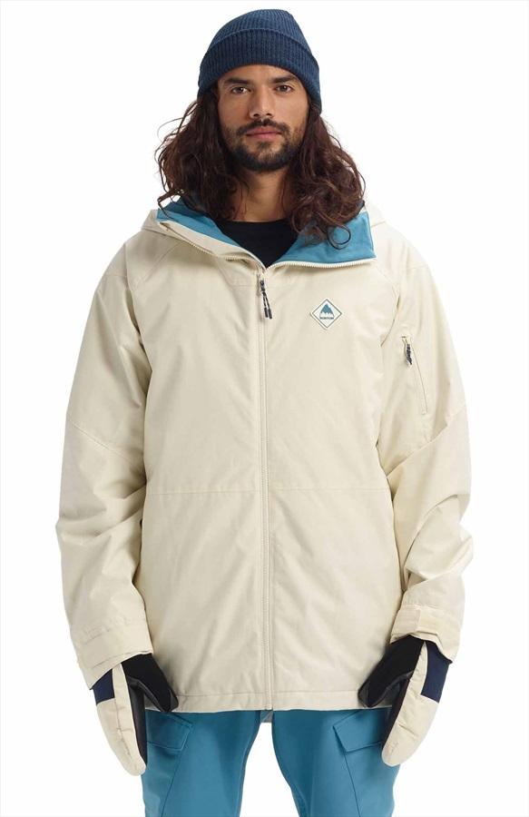 Burton Hilltop Snowboard/Ski Jacket, L Almond Milk