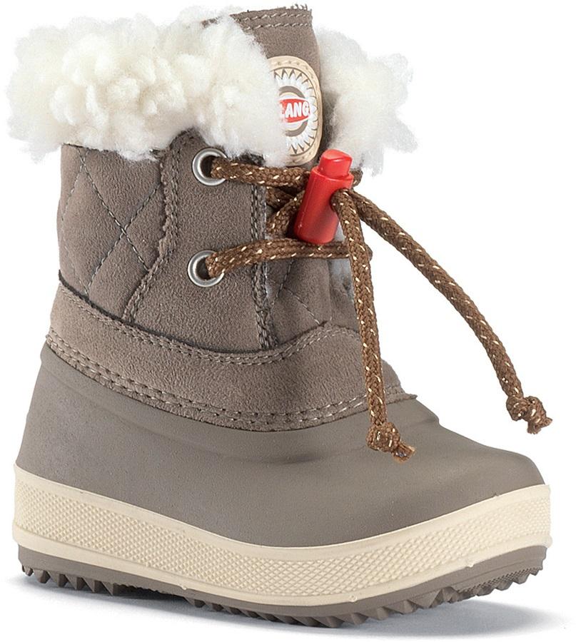Olang Ape Kids Winter Snow Boots UK Child 9.5/10 Mushroom