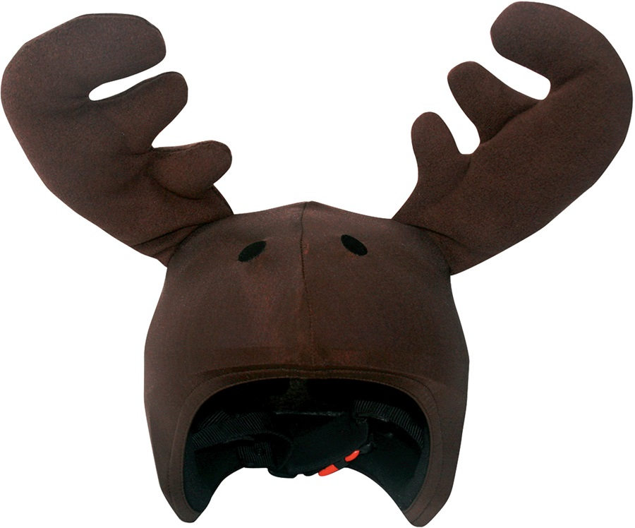 Coolcasc Animals Ski/Snowboard Helmet Cover, One Size, Moose