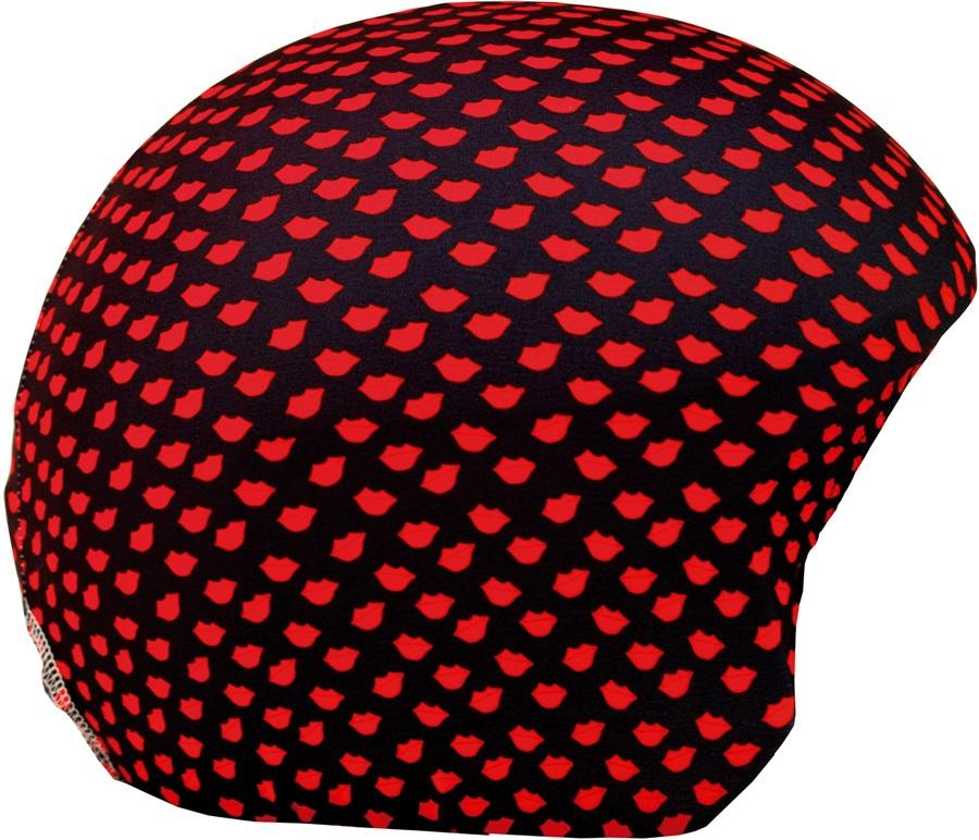 Coolcasc Printed Cool Ski/Snowboard Helmet Cover, Lips