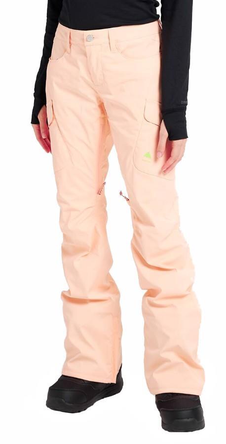 Burton Gore-Tex Gloria Women's Ski/Snowboard Pants S Peach Melba