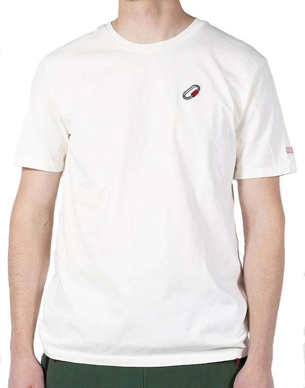 Topo Designs Quick Link Short Sleeve T-Shirt, S Natural