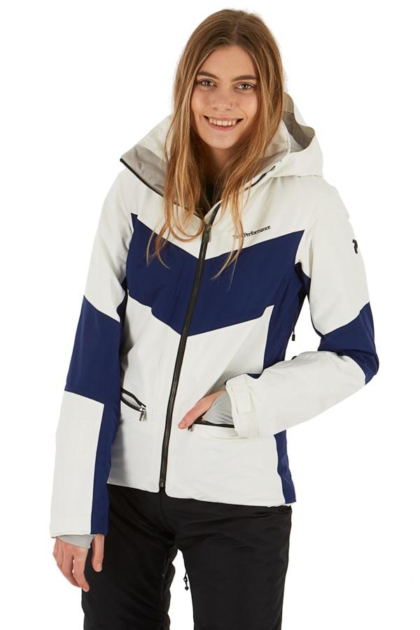 Peak Performance Peakville GTX Women's Snowboard/Ski Jacket S Offwhite