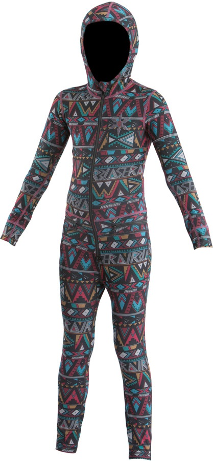 Airblaster Youth Ninja Thermal One Piece Suit, Age 8-10 Wild Tribe
