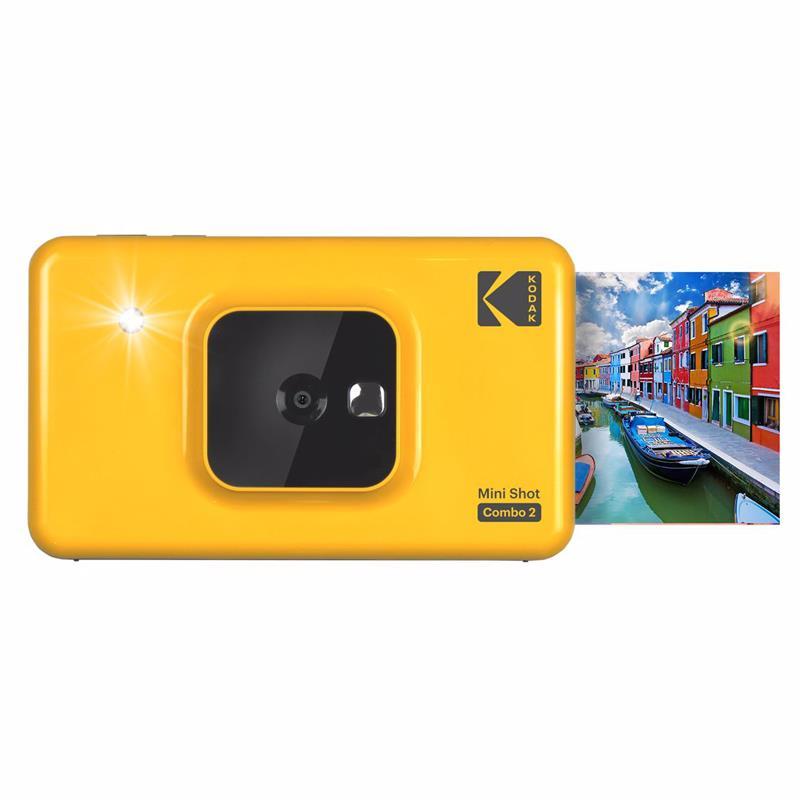 Kodak Mini Shot 2 C210 10MP Camera & Printer Combo Yellow