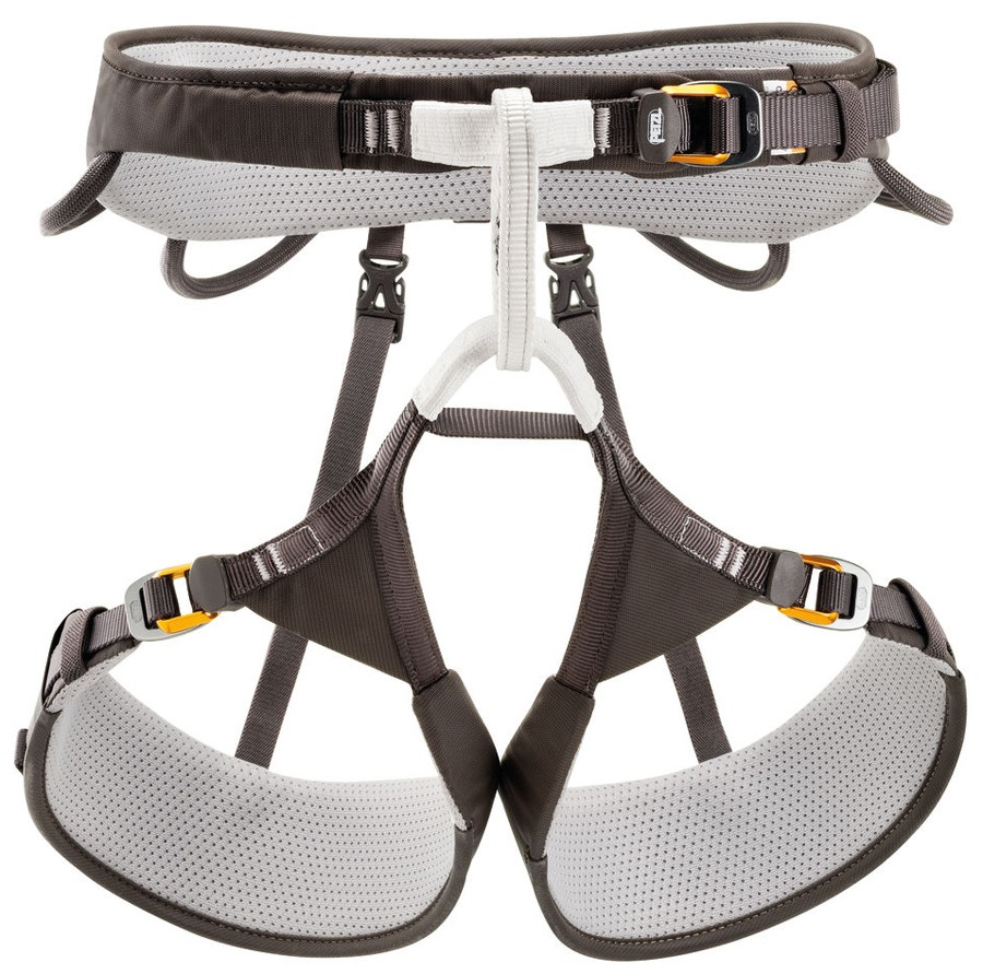 Petzl Aquila Harness Adult Climbing Harness, XL Gray