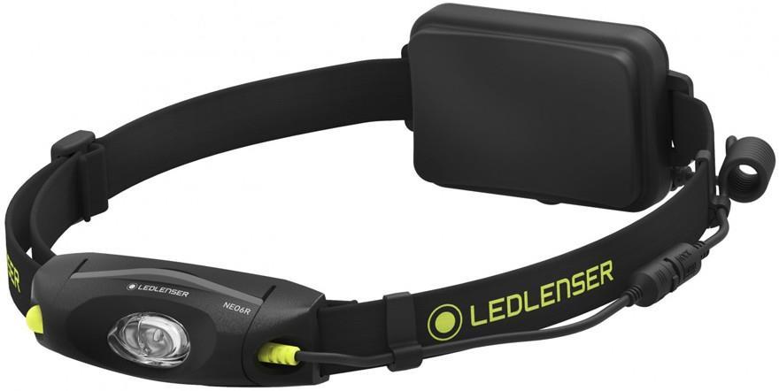 Led Lenser NEO6R Headlamp IPX7 Rechargable Running Head Torch, Black