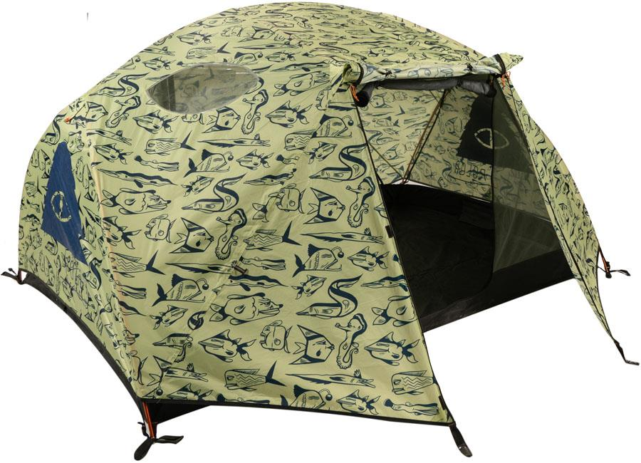 Poler Two Person Ultralight Camping Shelter 2 Man Cucumber Fish