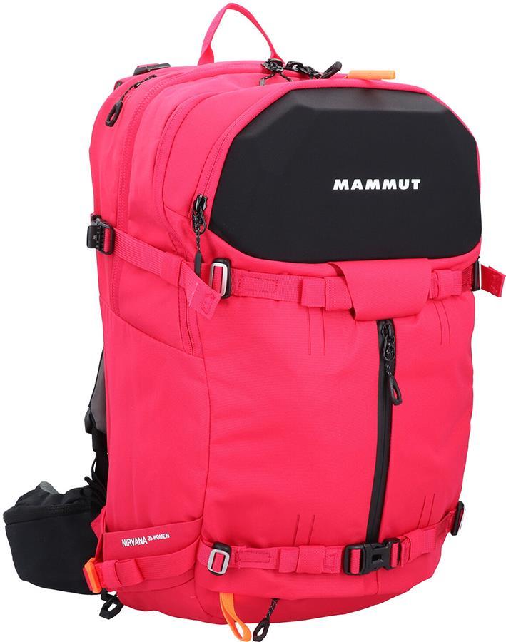 Mammut Nirvana 35 Women's Freeride Ski Backpack, 35L Dragon Fruit