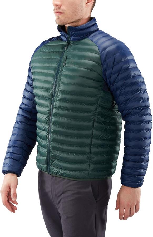 Haglofs Essens Mimic Recycled Insulated Jacket, XL Mineral/Tarn Blue