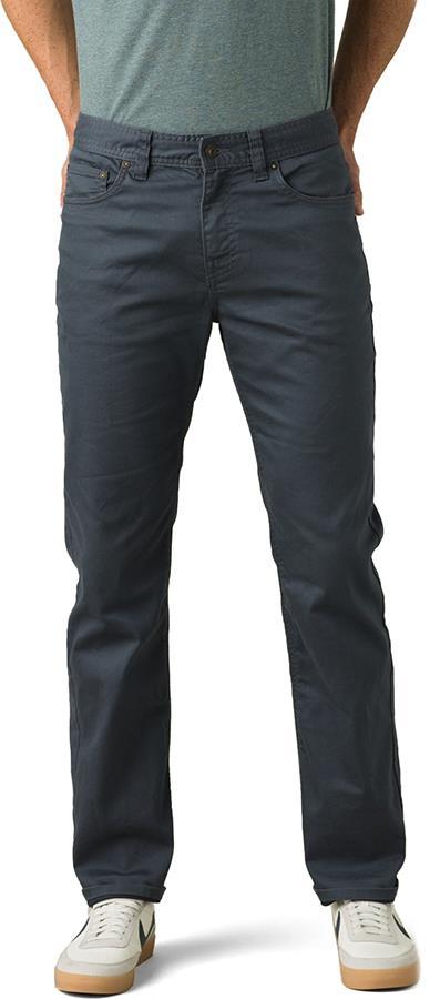 Prana Bridger Jeans Regular Hiking/Climbing Trousers, S Chalkboard