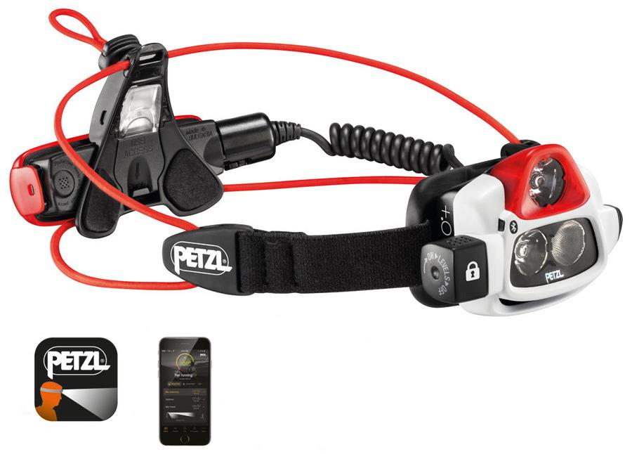 Petzl NAO + IPX4 Rechargeable Headtorch, 750 Lumens White/Black