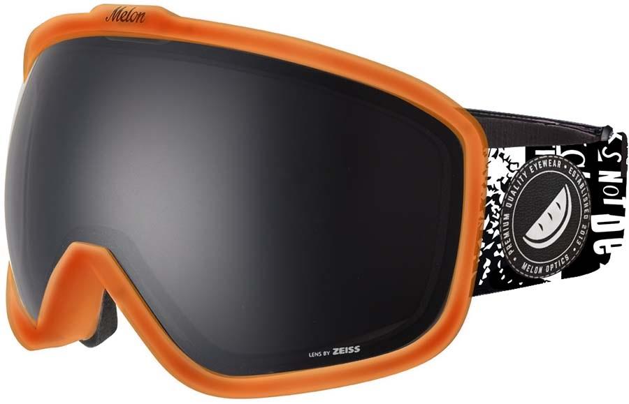 Melon Jackson Dark Smoke Snowboard/Ski Goggle, M/L Bubblegum Orange