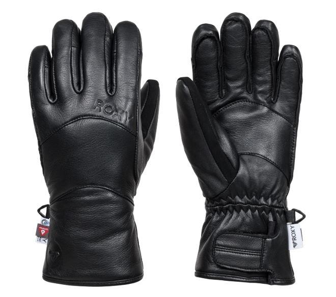 Roxy Wildlove Women's Snowboard/Ski Gloves, S True Black