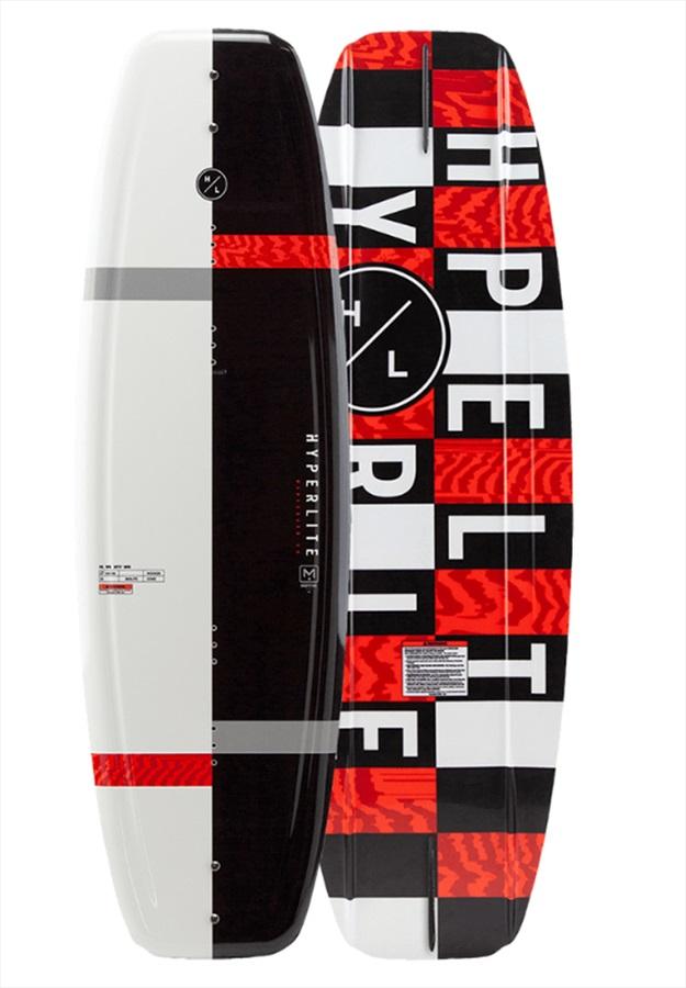 Hyperlite Motive Boat Wakeboard, 134 Black White Red 2021