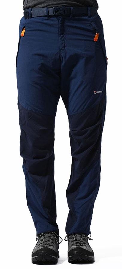 Montane Terra Pants 4 Season Hiking/Walking Trousers XS, Blue Short