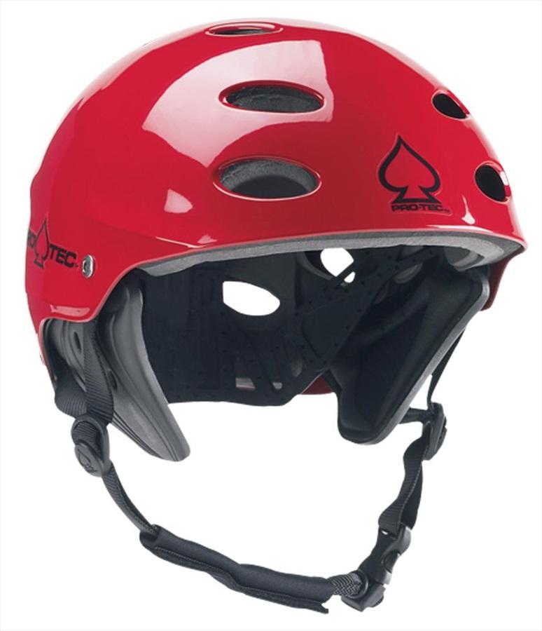Pro-tec Ace Wake Watersport Helmet, XL Red Gloss