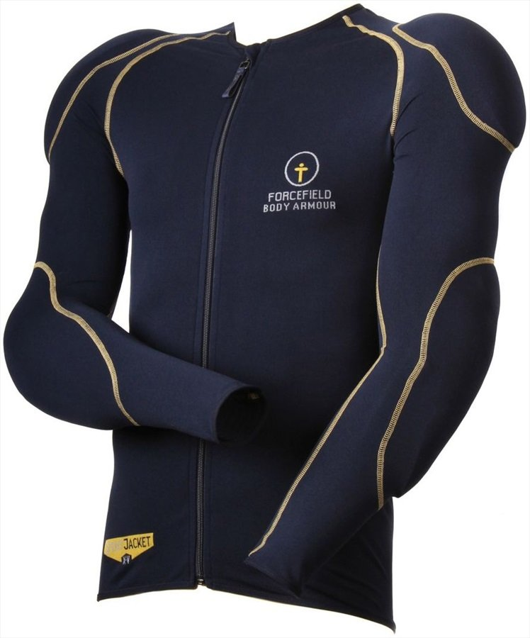 Forcefield Sports Jacket L1-2 Body Armour + Back Protector, XS Navy