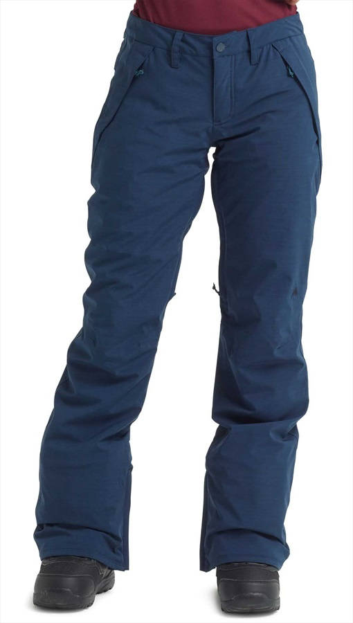 Burton Society Women's Snowboard/Ski Pants, S Dress Blue