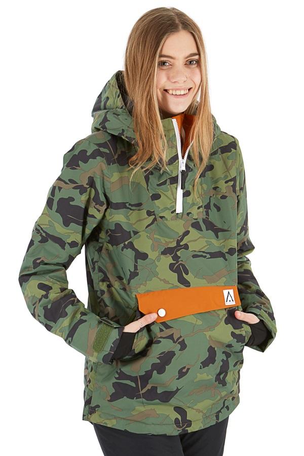 Wearcolour Homage Anorak Women's Snowboard/Ski Jacket XS Dark Forest