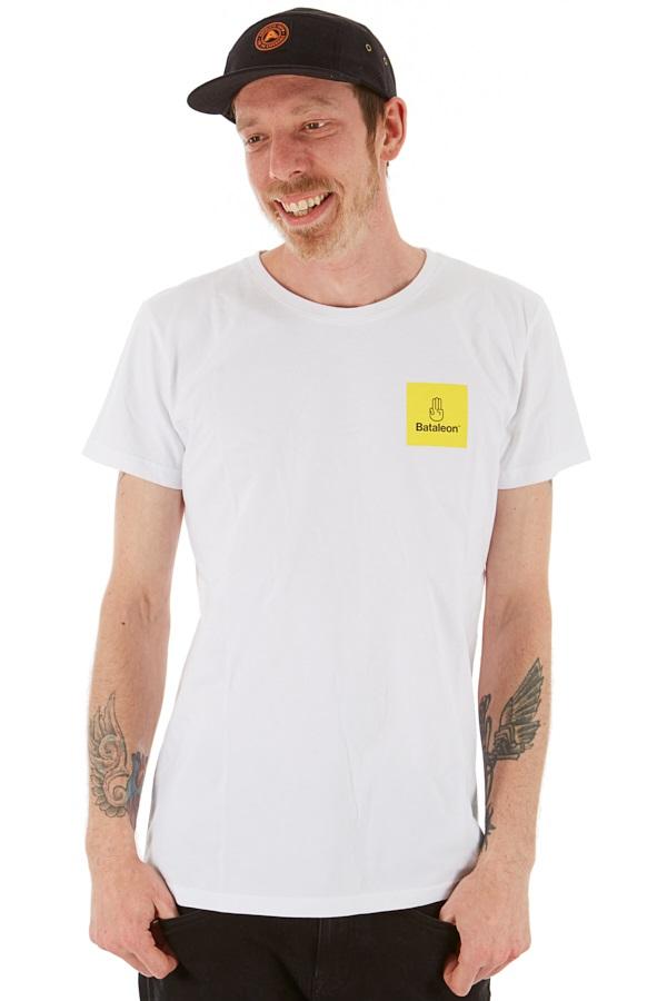 Bataleon Adult Unisex Logo Box T-Shirt, L White