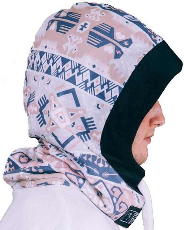 Brethren Apparel Thug Rug Ski/Snowboard Face Hood, Ink-Huh