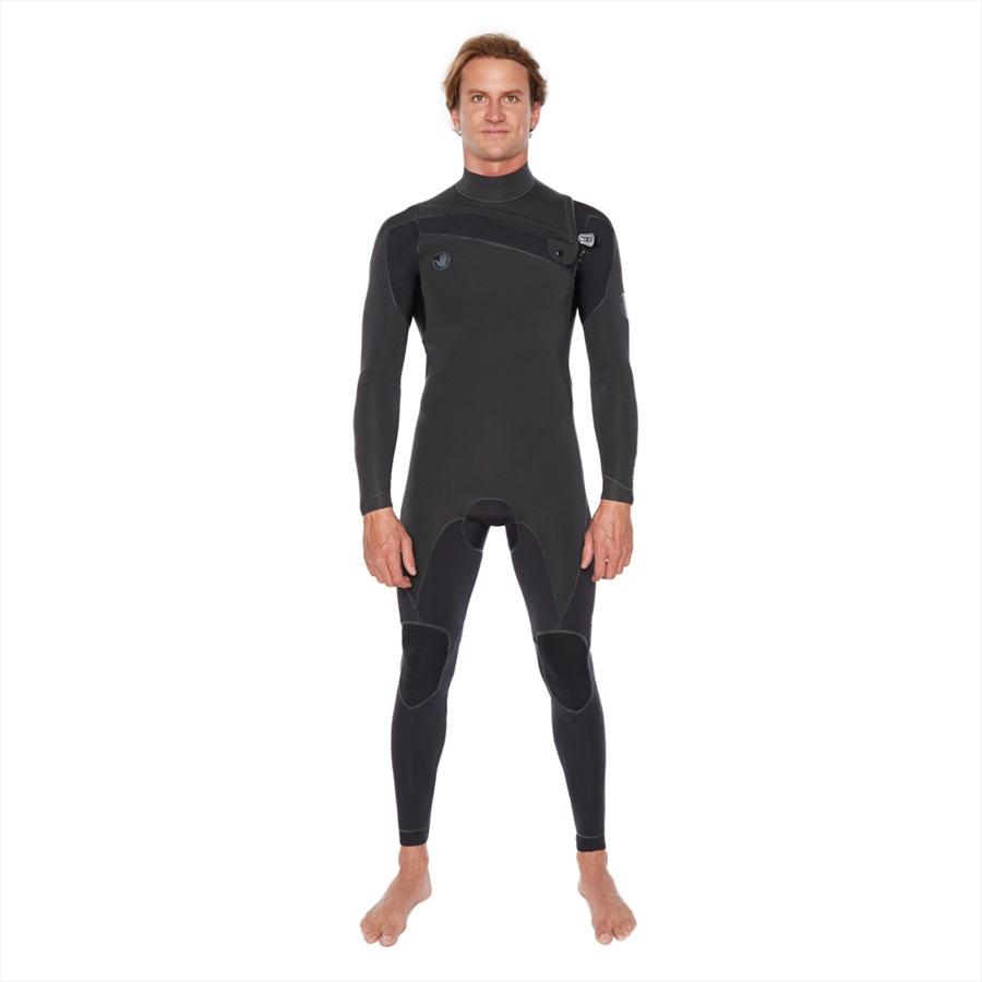 Body Glove Prime 3/2 Slant Zip Full Suit Surfing Wetsuit, M Black