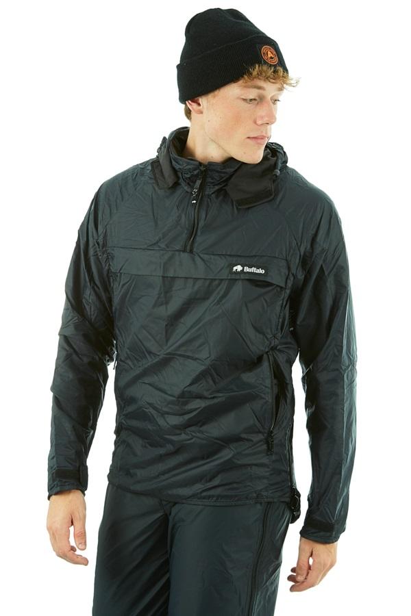 Buffalo Teclite Shirt Technical All Weather Jacket, S Black