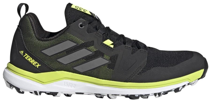 Adidas Terrex Agravic Men's Trail Running Shoes, UK 7 Black/Yellow