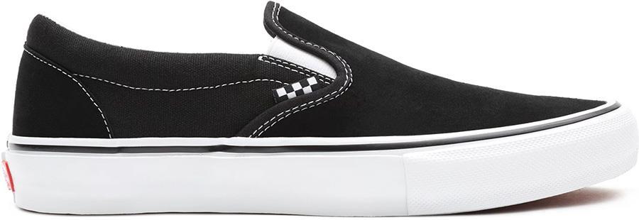Vans Skate Slip-On Trainers/Shoes, UK 7 Black/White