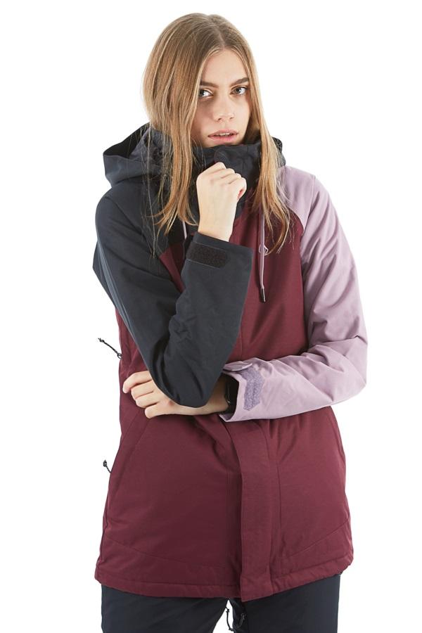 Volcom Westland Insulated Women's Ski/Snowboard Jacket S Merlot