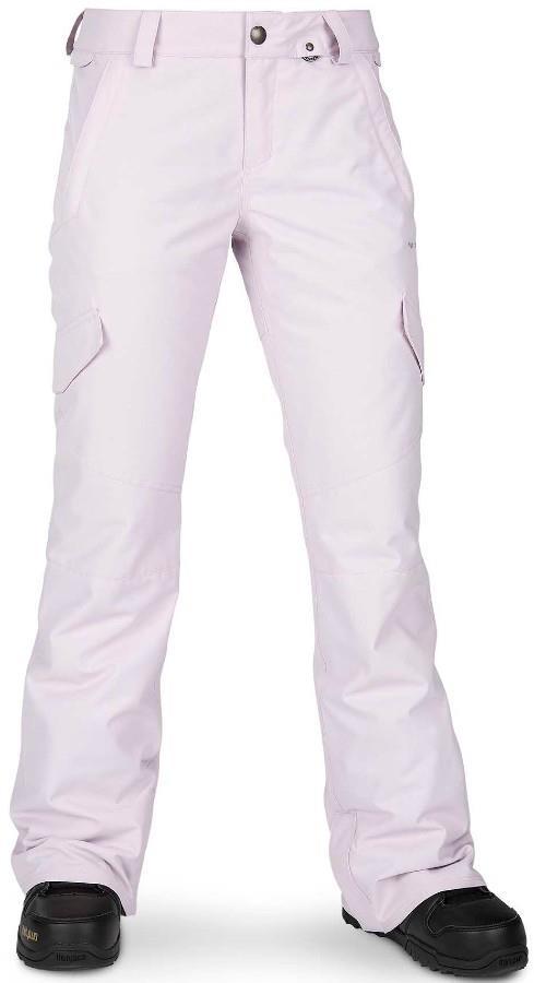 Volcom Bridger Insulated Women's Snowboard/Ski Pants XS Violet Ice