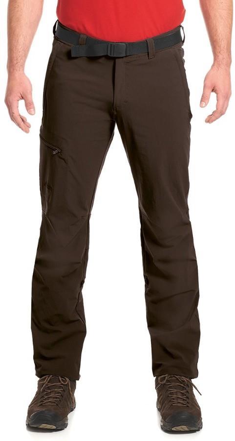 Maier Sports Nil Roll Up Regular Hiking Trousers, XS Demitasse