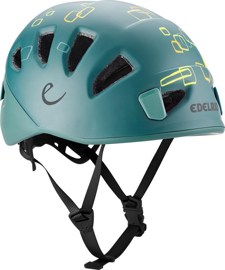 Edelrid Shield 2 Kids Helmet Kids Climbing Helmet Jade Petrol