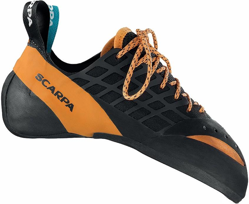 Scarpa Instinct Lace Rock Climbing Shoe UK 8 | EU 42 Black
