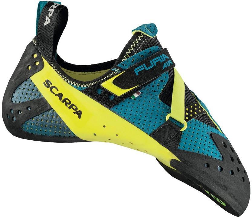 Scarpa Furia Air Rock Climbing Shoe : UK 5.5 | EU 39, Baltic Blue