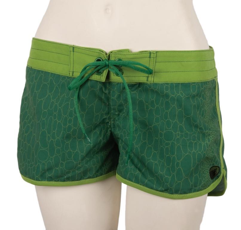 Liquid Force Snake Charmer Board Shorts, UK 8 US 4 Eur 36 Green