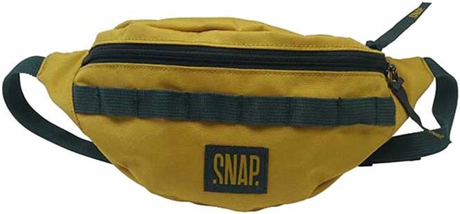 Snap Hip Bag, Travel Pack Bum Bag, 21 X 13 X 10 Cm, Curry