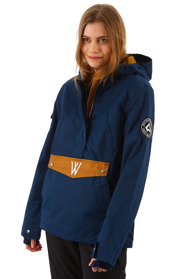 Westbeach Melody Women's Overhead Anorak Jacket, S Ultramarine