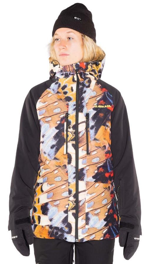 Armada Stadium Insulated Womens Ski/Snowboard Jacket, S Flutter