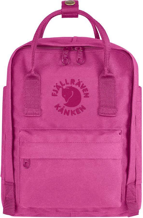 Fjallraven Re-Kanken Mini Backpack/Kids' Rucksack, 7L Pink Rose