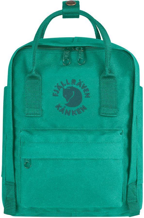 Fjallraven Re-Kanken Mini Backpack/Kids' Rucksack, 7L Emerald